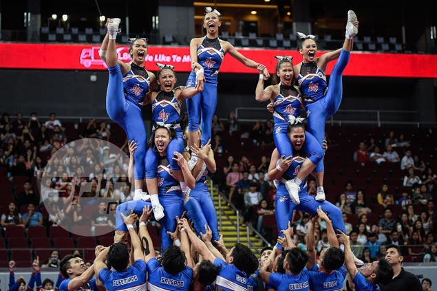 Arellano Chiefs back on top of NCAA cheerleading, bags second title in three years