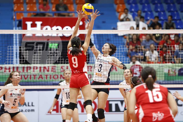 Rejigged Petron proves championship mettle with five-set win over Cignal in Superliga