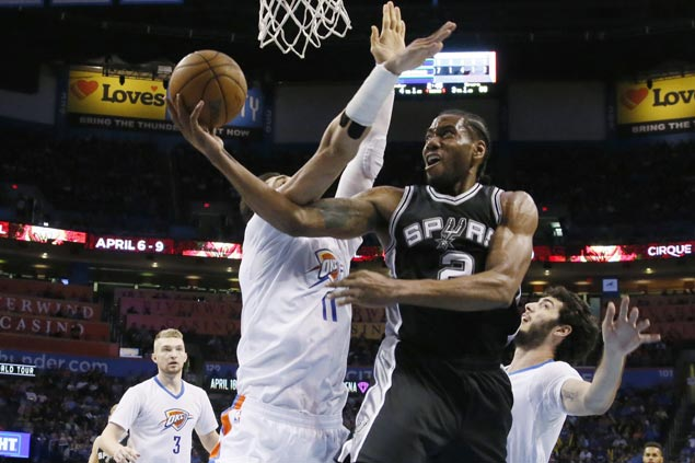 Fatigue, injuries no excuse for Popovich in loss to Thunder: 'We got our butts kicked'