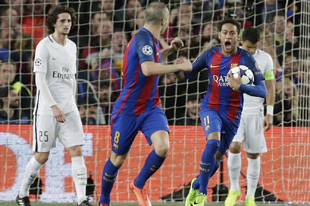 Barcelona's incredible win over PSG joins elite rank of greatest comebacks in football history