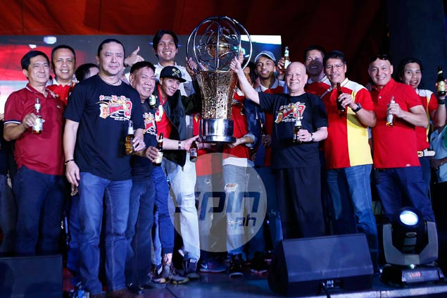 Austria thanks Santos, Fajardo, Ross for each of San Miguel's three PH Cup titles