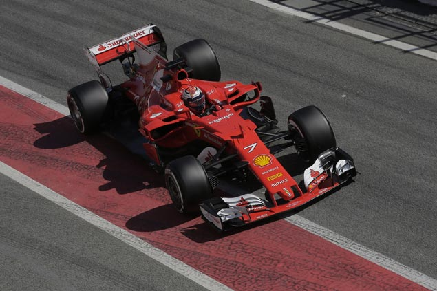 Ferrari flies, McLaren limps toward new Formula One season