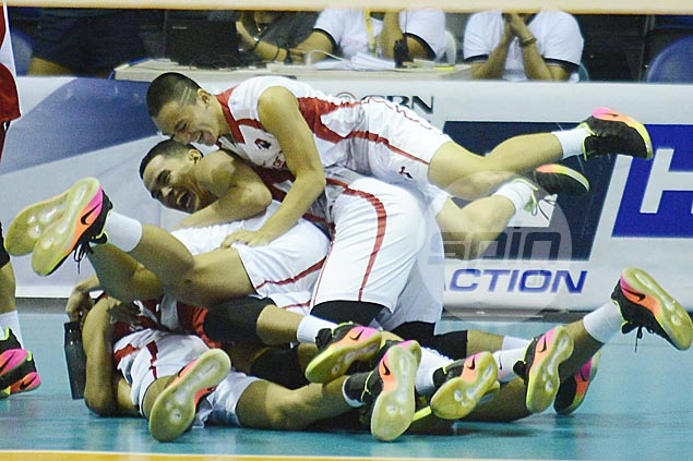 UE Warriors down Adamson Falcons to end 35-match, three-year losing run in UAAP volleyball