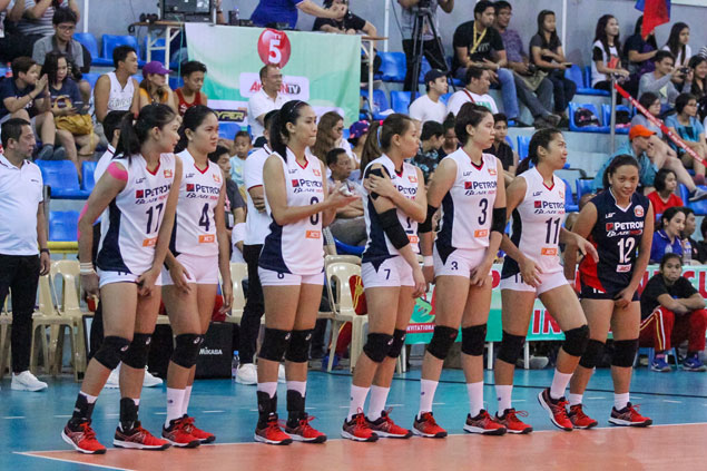 Petron keeps record perfect in Super Liga with four-sets drubbing of Cocolife