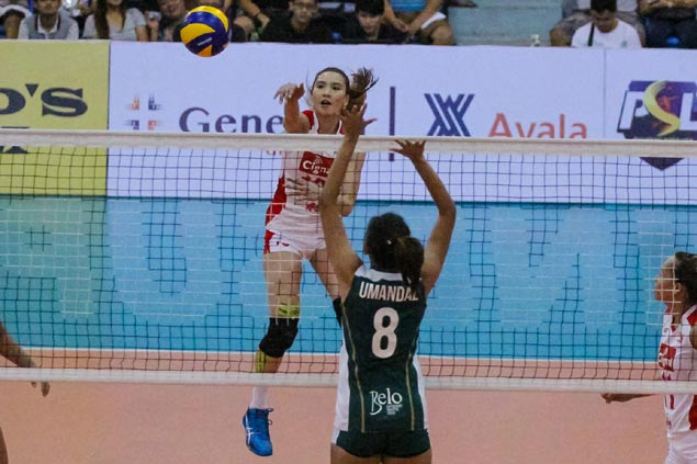 Cignal recovers from a set down to keep Sta Lucia winless in Superliga Invitational