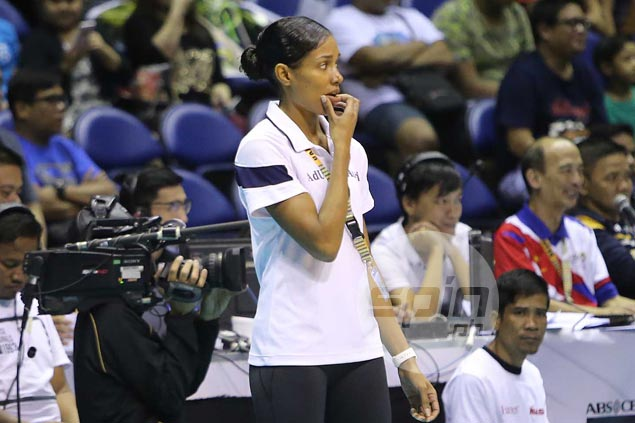 Lady Falcons coach Airess Padda apologizes for dropping F-bomb during live UAAP match