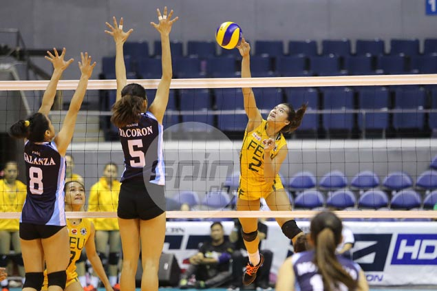 FEU Lady Tamaraws get back on track, vent ire on winless Adamson Lady Falcons