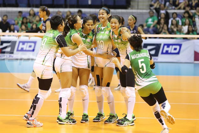 La Salle Lady Spikers beat NU Lady Bulldogs in four for second straight win