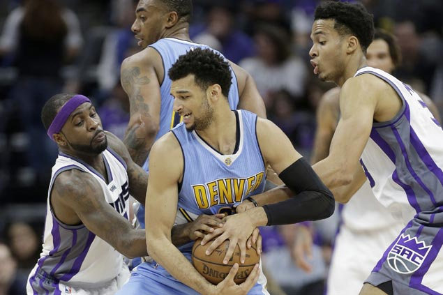 Jamal Murray plays steady in the endgame as Nuggets get by Kings