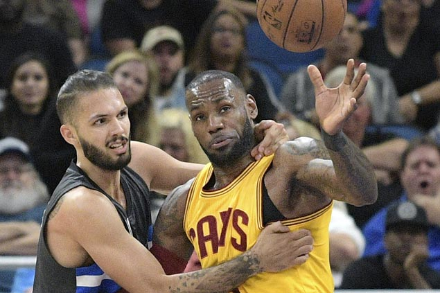 LeBron James has triple-double as Cavaliers arrest three-game slide with win over Magic