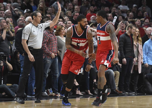 Markieff Morris hits controversial game-winner as Wizards edge Blazers in overtime