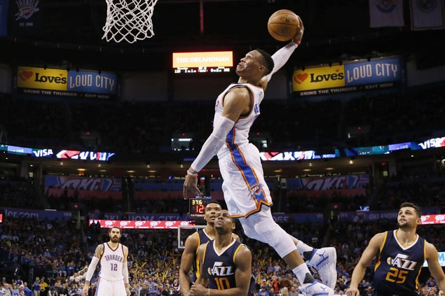 Russell Westbrook posts 32nd triple-double to pass Wilt Chamberlain, move closer to Oscar Robertson