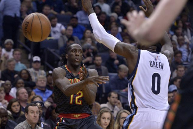 Rookie Taurean Prince shows way as Hawks send Grizzlies to fifth straight loss