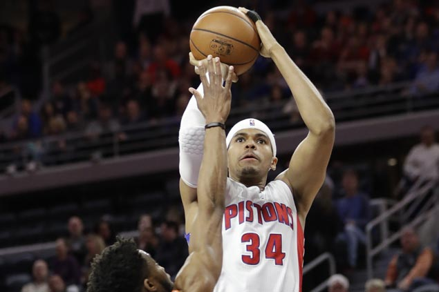 Tobias Harris sparks early surge and Pistons cruise to victory over Knicks