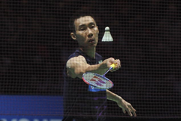 Brice Leverdez stuns Lee Chong Wei in first round of badminton world championships