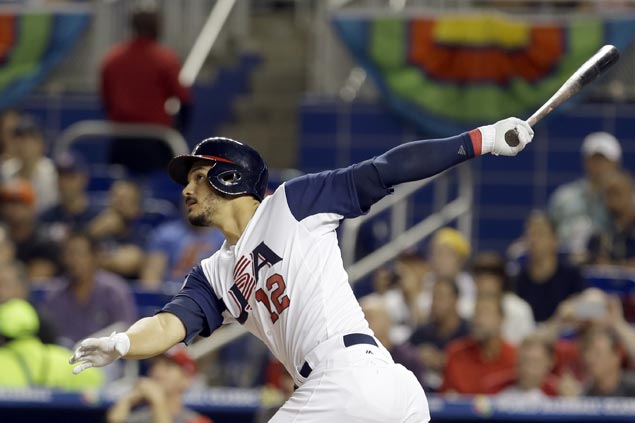US bounces back with eight-run win over Canada to gain second round of WBC