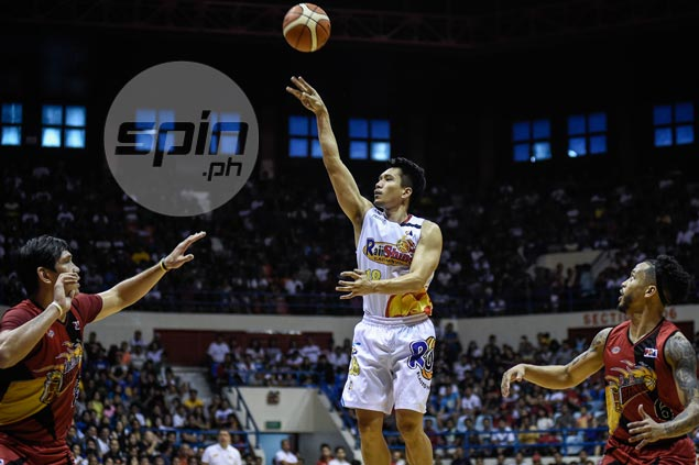Expect James Yap to be a 'different player' in new conference, says coach Caloy Garcia