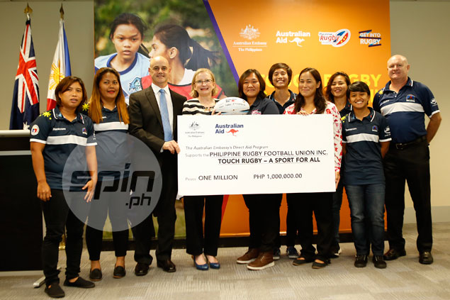Philippine Rugby Football Union receives financial aid from Australian government