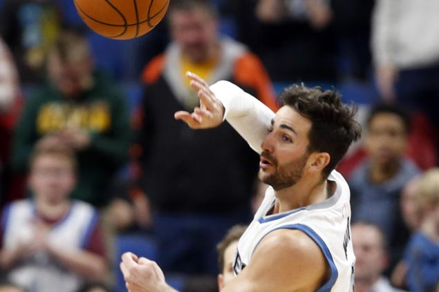 Ricky Rubio sets franchise record 19 assists as Timberwolves end Wizards win run at five