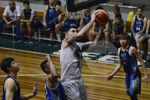 Robbie Herndon stars as Victoria Sports ends D-League stint with victory over Blustar