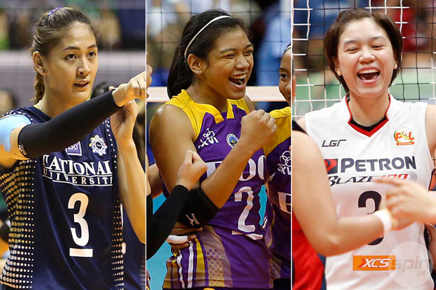 Alyssa Valdez, Mika Reyes turn teammates after rivals named to 25-man national volleyball pool