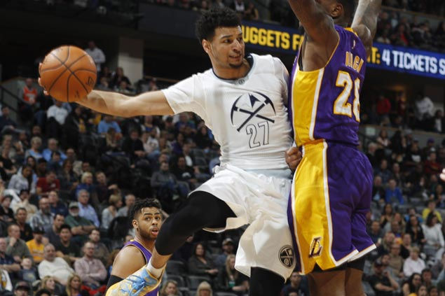 Nuggets deal Lakers a 28-point beatdown to tighten grip on West eighth seed