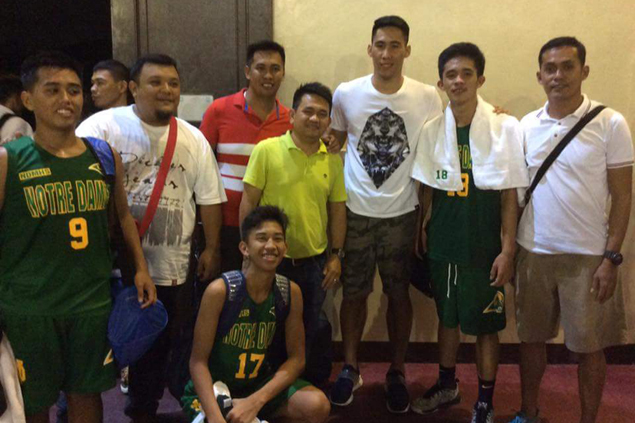 Mac Belo goes out of his way to support Kidapawan-based alma mater in NBTC wars