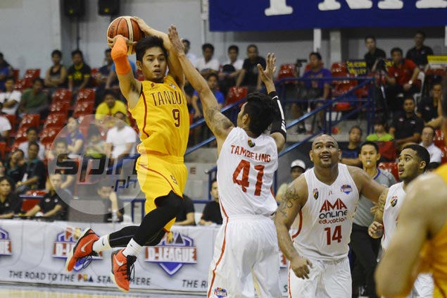 Tanduay completes Aspirants Cup semis cast with squeaker over AMA Online