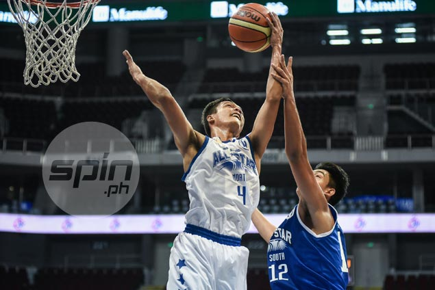 Encho Serrano, Gomez de Liano power late surge as North beats South in NBTC Division 1 All-Stars