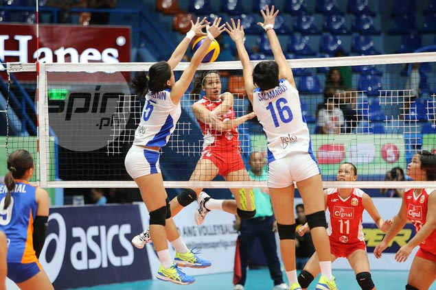Strong Cignal inches closer to Superliga leader after four-set win over Generika