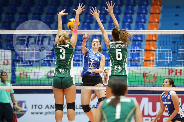 Coco Life rallies from a set down to foil winless Sta. Lucia for first win in PSL Invitational