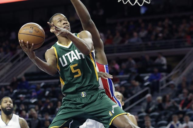 Utah shackles Detroit gunners early, then weathers late Pistons rally for second straight win