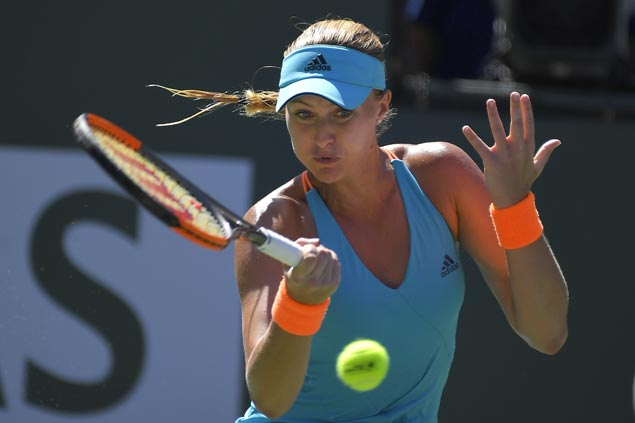 Venus Williams, Caroline Wozniacki fall as Kristina Mladenovic, Elena Vesnina complete Indian Wells semis