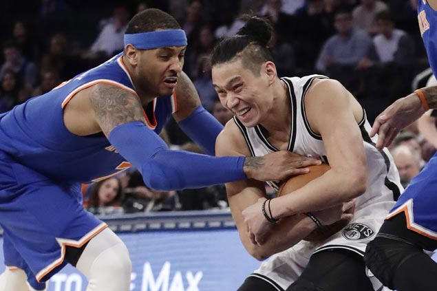 Brook Lopez, Jeremy Lin propel Nets to back-to-back wins over New York rival Knicks