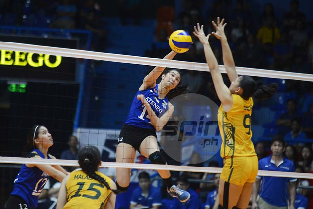 Eight straight for Ateneo Lady Eagles with five-set victory over FEU Lady Tams
