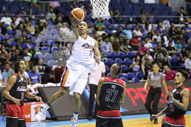 Embarrassing 47-point loss at end of Philippine Cup motivated Bolts to start Comm's Cup strong, says Newsome