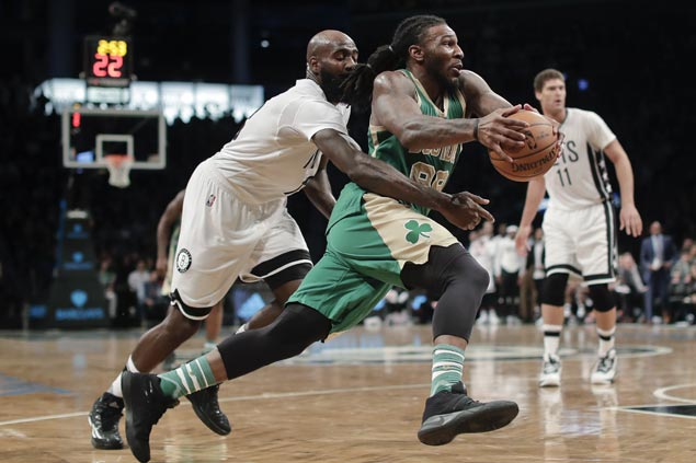 Jae Crowder, Al Horford take charge as Thomas-less Celtics squeak past lowly Nets