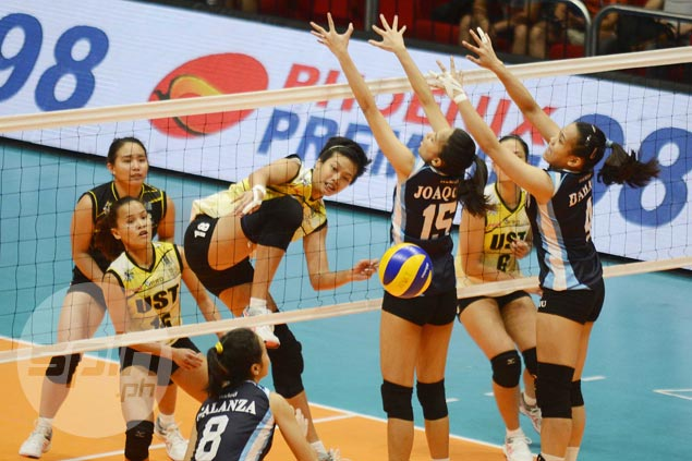 UST Tigresses overcome winless Adamson Lady Falcons to get back on track