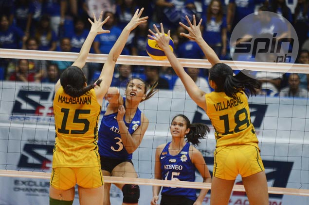 Lady Eagles brace for tougher tests after barely getting by tough defense of error-prone FEU