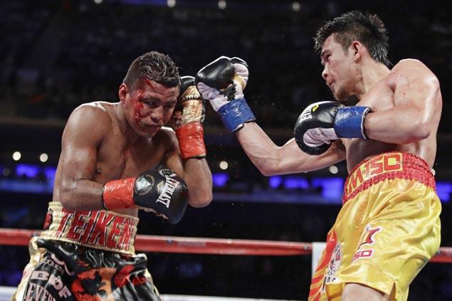 Srisaket Sor Rungvisai stuns erstwhile unbeaten Chocolatito Gonzales for super flyweight title