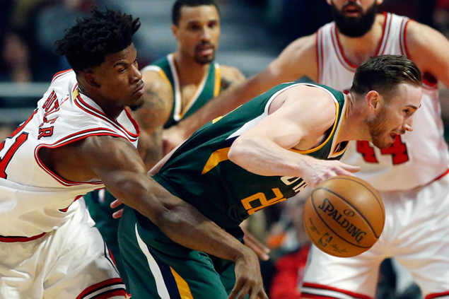 Jimmy Butler, Bobby Portis star as Bulls defeat Jazz to stop two-game slide