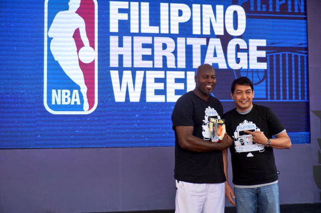 Glen Rice and Allan Caidic finally meet again - seven years after memorable exhibition game