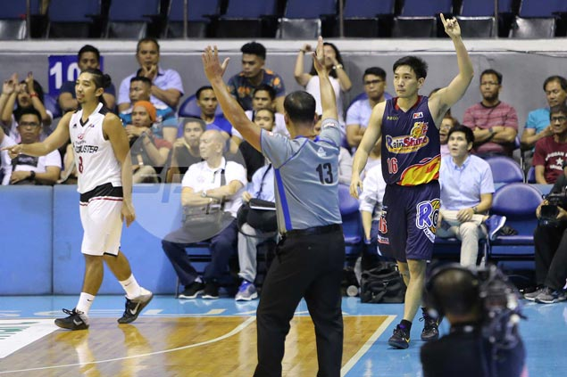 Jeff Chan's lone three-pointer in OT puts to naught David's vintage shooting display
