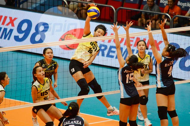 Ria Meneses enjoys UST teammates' support as she vies for spot in Philippine team