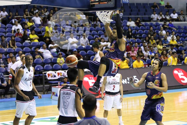 Rain or Shine survives Gary David's vintage explosion, turns back Mahindra in overtime