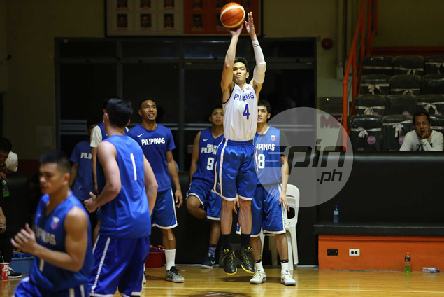 Marc Pingris encourages Maliksi to aspire to be a complete player as he joins Gilas ranks