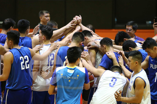 Gilas Pilipinas steps up buildup for Seaba championship with start of daily practices