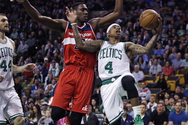 Celtics overcome Wizards rally from 20 points down to even season series with heated East rival