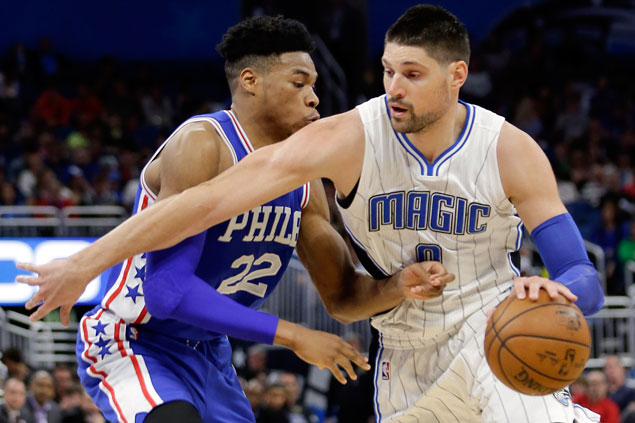 Magic erase 17-point deficit, hold off Sixers in OT for first win streak in three months