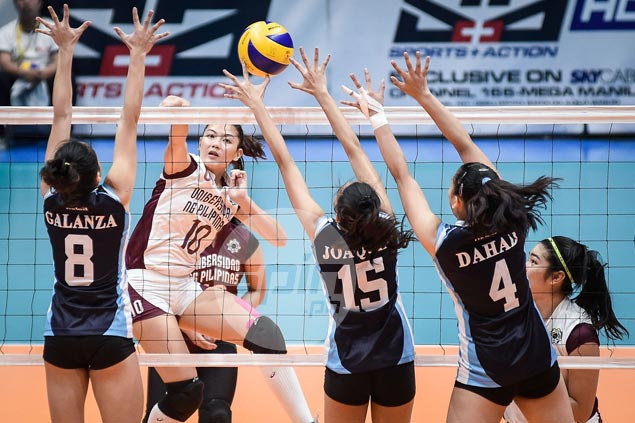 UP Lady Maroons back on track, boost Final Four bid with romp over Adamson